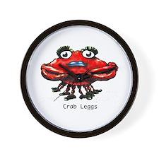 Crab Leggs Wall Clock