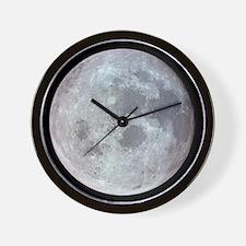 Moon from Apollo 11 Wall Clock