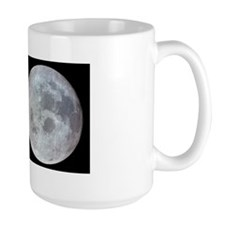 Moon from Apollo 11 Large Astronomy Mug