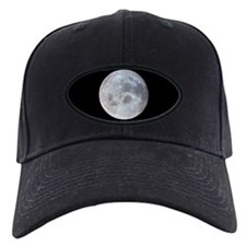 Moon from Apollo 11 Black Space Cap