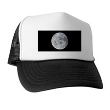 Moon from Apollo 11 Trucker  Space Hat