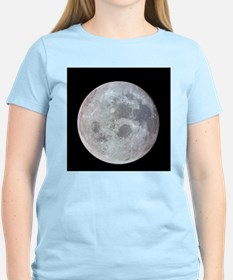 Moon from Apollo 11 Women's Pink T-Shirt