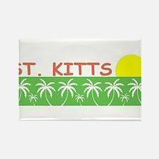 St. Kitts Rectangle Magnet