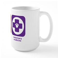 Eat Sleep Veterinary Medicine Mug