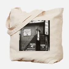 License Photo Studio Tote Bag