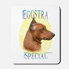 Eggstra Special German Pinscher Mousepad