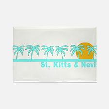 St. Kitts & Nevis Rectangle Magnet