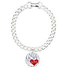 Faith Hope and Love Bracelet