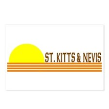 St. Kitts & Nevis Postcards (Package of 8)