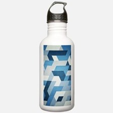 Abstract Geometry  Water Bottle