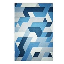 Abstract Geometry  Postcards (Package of 8)