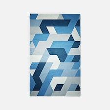 Abstract Geometry  3'x5' Area Rug