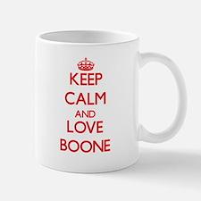 Keep calm and love Boone Mugs