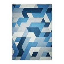 Abstract Geometry  5'x7'Area Rug