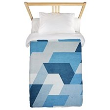 Abstract Geometry  Twin Duvet