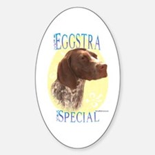 Eggstra Special GSP Oval Decal