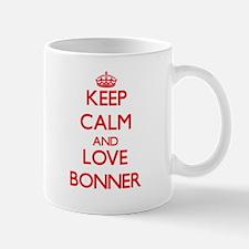 Keep calm and love Bonner Mugs