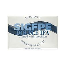 SIGFPE IPA Rectangle Magnet