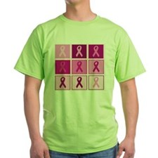 Pink Ribbon Multi pink T-Shirt
