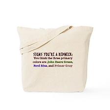 Redneck Colors Tote Bag