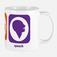 Eat Sleep Speech Mug