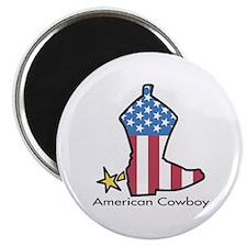 "American Cowboy 2.25"" Magnet (100 pack)"