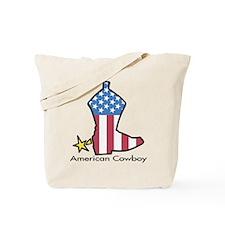 American Cowboy Tote Bag