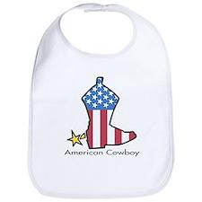 American Cowboy Bib