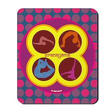 Pranayama Yoga Mousepad