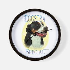 Eggstra Special Swissy Wall Clock