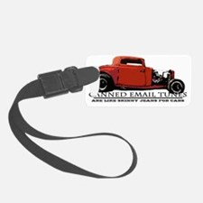 Canned Email Tunes Luggage Tag