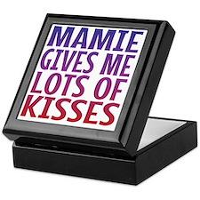 Mamie Gives Me Lots Of Kisses Keepsake Box