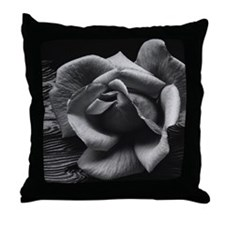Ansel Adams Rose And Driftwood Throw Pillow