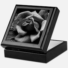 Ansel Adams Rose And Driftwood Keepsake Box
