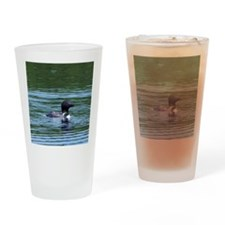 Wet Loon Drinking Glass