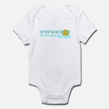 St. Lucia Infant Bodysuit