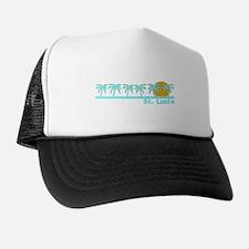 St. Lucia Trucker Hat