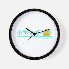 St. Lucia Wall Clock