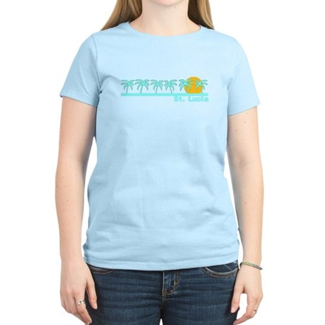 St. Lucia Women's Light T-Shirt
