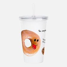 donut love Acrylic Double-wall Tumbler