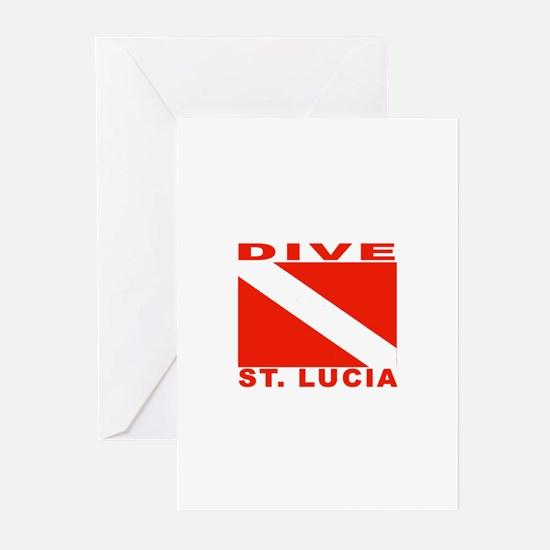 Dive St. Lucia Greeting Cards (Pk of 10)