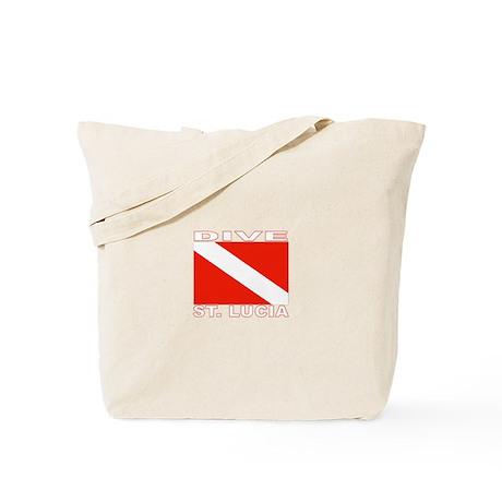 Dive St. Lucia Tote Bag