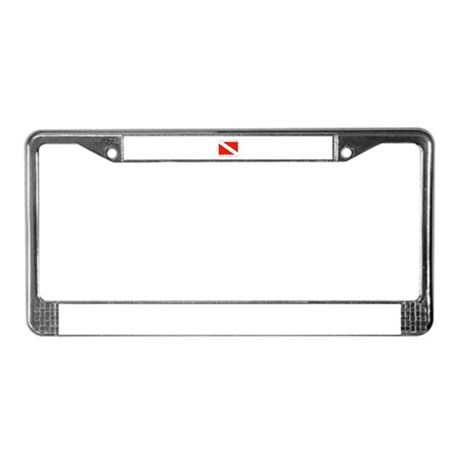 Dive St. Lucia License Plate Frame