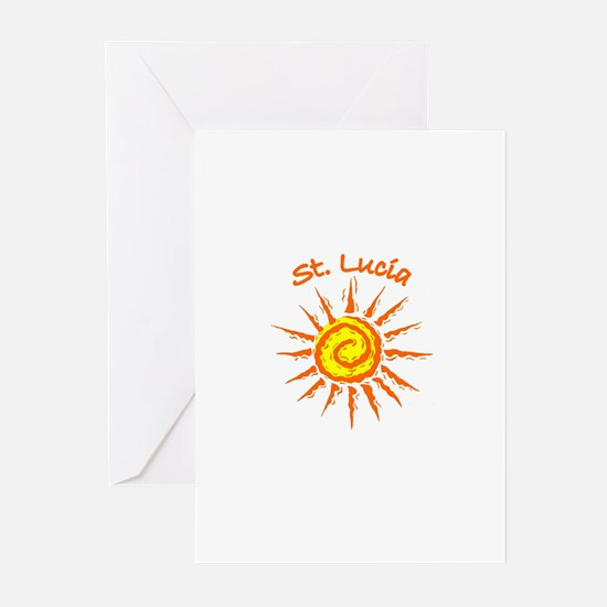 St. Lucia Greeting Cards (Pk of 10)