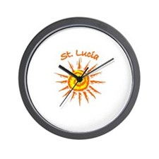 St. Lucia Wall Clock