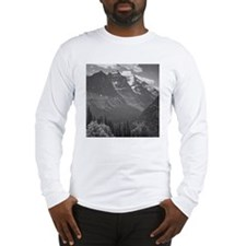 Ansel Adams Glacier National P Long Sleeve T-Shirt