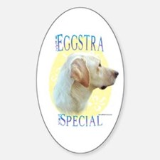 Eggstra Special Lab Oval Decal