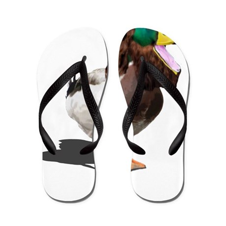Dynasty Duck Flip Flops
