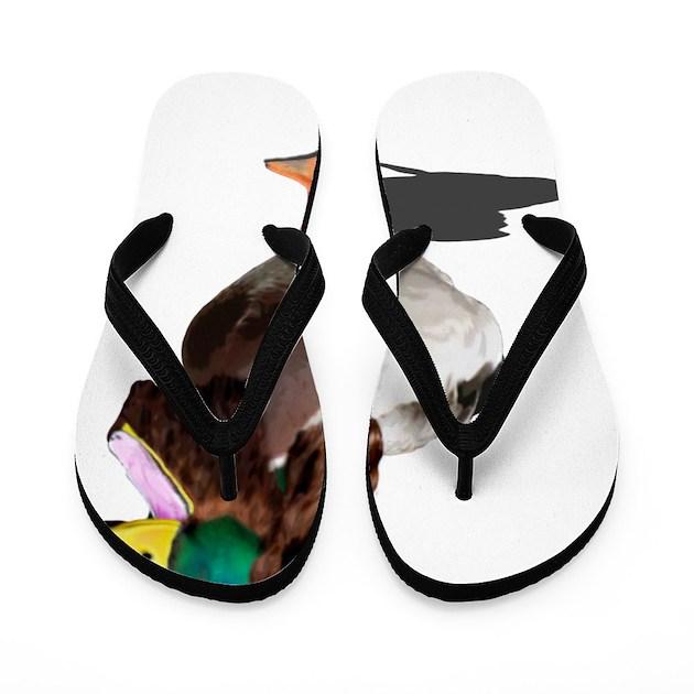 Dynasty Duck Flip Flops By Admin Cp9082460