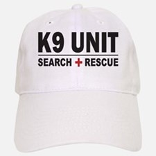 K9 Unit Search Rescue Sticker Baseball Baseball Cap
